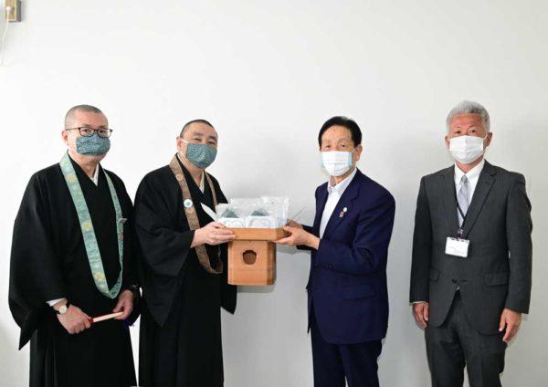マスクを日光市社会福祉協議会に寄贈させて頂きました。