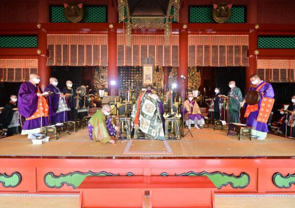 天台宗栃木教区主催伝教大師千二百年大遠忌法要が開催されました